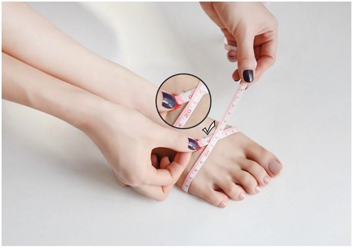 Breedte voet meten